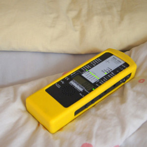 Messung elektrischer Felder an einem Schlafplatz